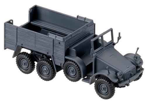 Herpa Minitanks 1/87 Krupp L2H 43/143 Truck (Grey)