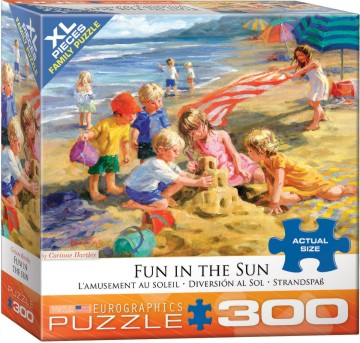 Fun in the Sun (Children on Beach) Puzzle (300pc)
