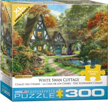 White Swan Cottage Puzzle (300pc)
