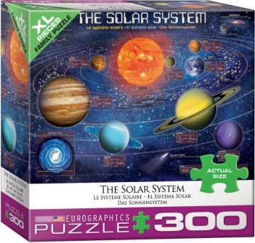 The Solar System Puzzle (300pc)