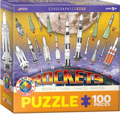 Space Rockets Puzzle (100pc)