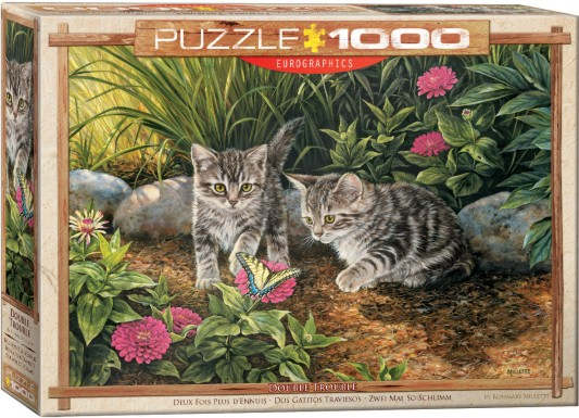 Double Trouble Kittens Puzzle (1000pc)