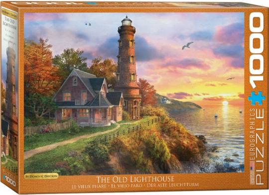 The Old Lighthouse Puzzle (1000pc)