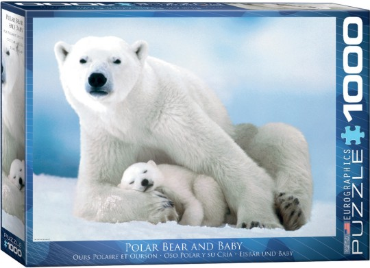Polar Bear & Baby Puzzle (1000pc)