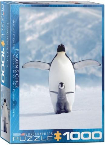 Penguin & Chick Puzzle (1000pc)