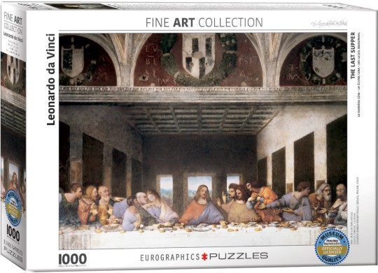 The Last Supper by DaVinci Puzzle (1000pc)