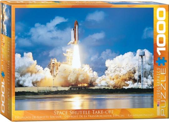 Space Shuttle Take-Off Puzzle (1000pc)