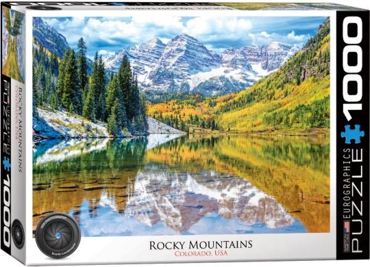 Rocky Mountains, Colorado USA Puzzle (1000pc)