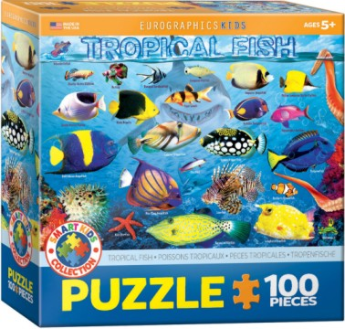 Tropical Fish Puzzle (100pc)