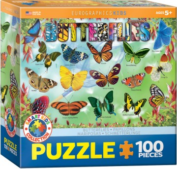 Butterflies Puzzle (100pc)