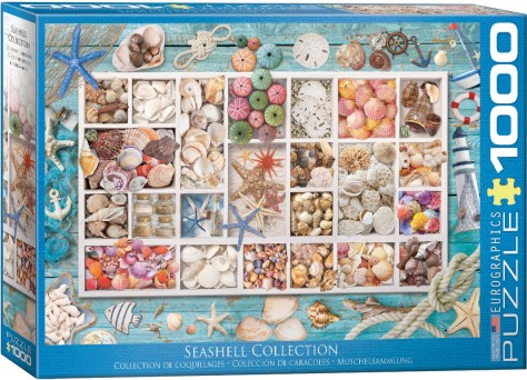 Seashell Collection Collage Puzzle (1000pc)