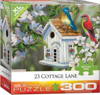 23 Cottage Lane (Birds/Birdhouse) Puzzle (300pc)