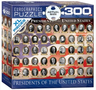 Presidents of the United States Collage Puzzle (300pc)