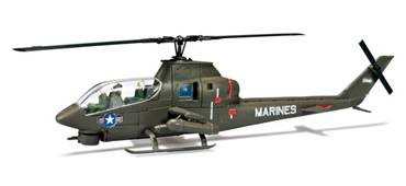 Herpa Minitanks 1/87 AH1G Cobra US Army Helicopter (Kit)