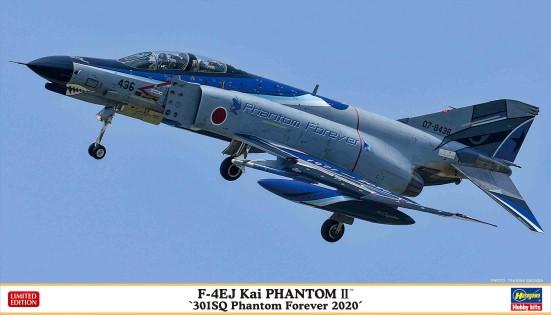 Hasegawa 1/72 F4EJ Kai Phantom II 301Sq Phantom Forever 2020 JASDF Fighter (Ltd Edition)
