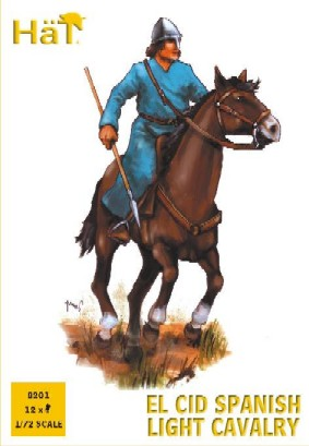 Hat 1/72 El Cid Spanish Light Cavalry (12 Mtd)