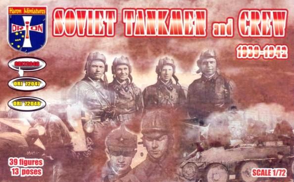 Orion Figures 1/72 Soviet Tankmen & Crew 1939-42 (39)