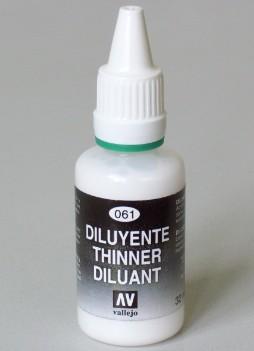 Vallejo Paints 32ml Bottle Airbrush Thinner