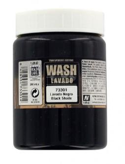 Vallejo Paints 200ml Bottle Black Wash