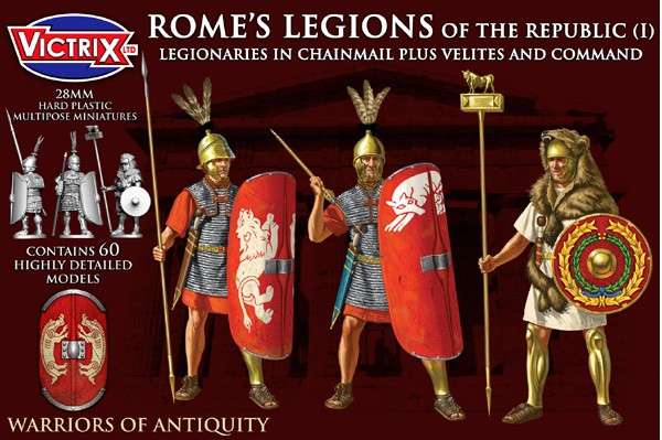 Victrix LTD Figures 28mm Rome's Legions of the Republic I in Chainmail (60)