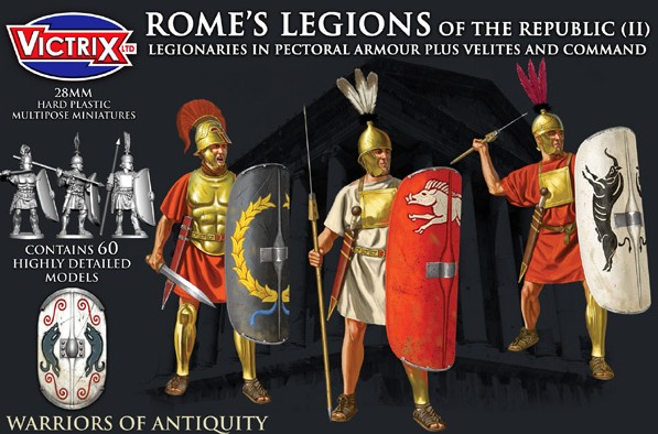 Victrix LTD Figures 28mm Rome's Legions of the Republic II in Pectoral Armour (6