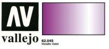 Vallejo Paints60ml Bottle Metallic Violet Premium