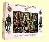 A Call To Arms Plastic 1/32 American Civil War: Confederate Infantry (16)