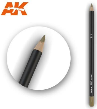 AKI Interactive Weathering Pencils: Gold