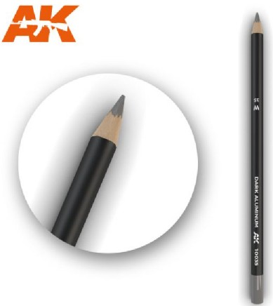 AKI Interactive Weathering Pencils: Dark Aluminum