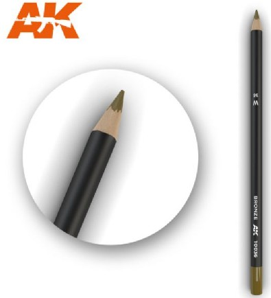 AKI Interactive Weathering Pencils: Bronze