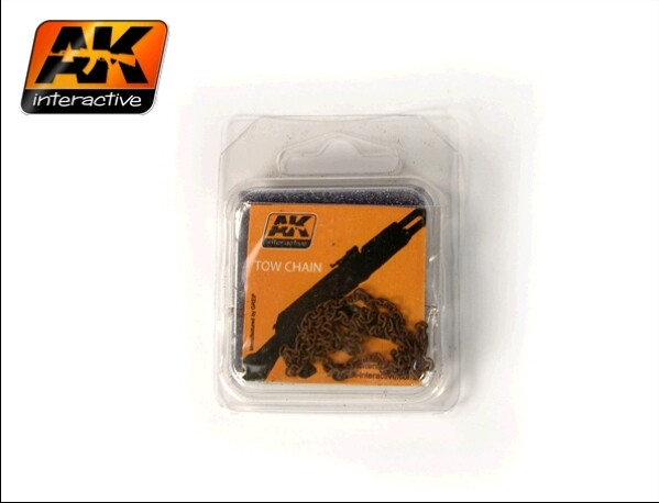 AK Interactive Rusty Tow Chain Large