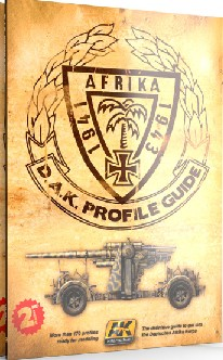 AK Interactive Afrika 1941-1943 DAK Profile Guide Book