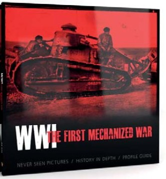 AK Interactive WWI The First Mechanized War Book