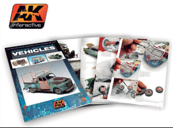 AK Interactive Extreme Weathering Vehicles Book