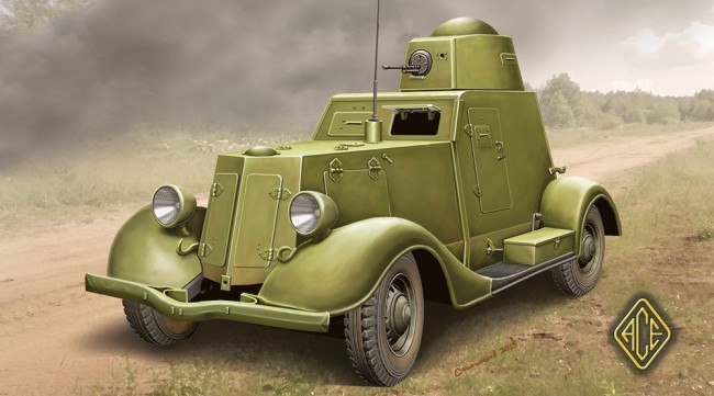 Ace Plastic Models 1/48 Ba20 Late Production Light Armored Car