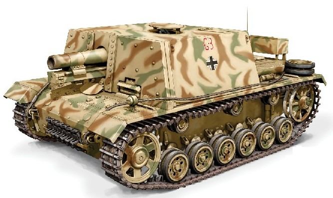 Image 0 of Armourfast 1/72nd Scale  SIG33B Tank (2) 99029