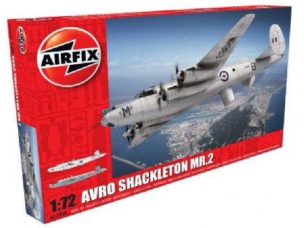 Airfix 1/72 Avro Shackleton MR2 British Long-Range Patrol Aircraft Model Kit