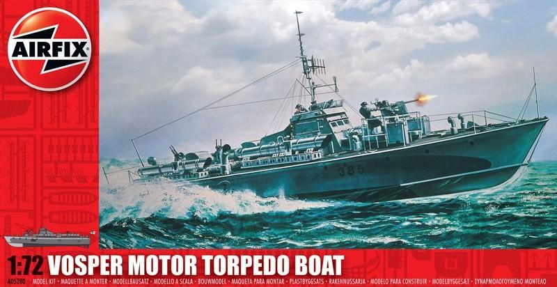 Airfix 1/72 Vosper Motor Torpedo Boat