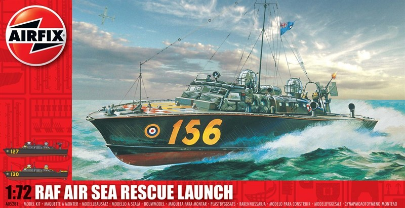 Airfix 1/72 RAF Air Sea Rescue Launch Boat