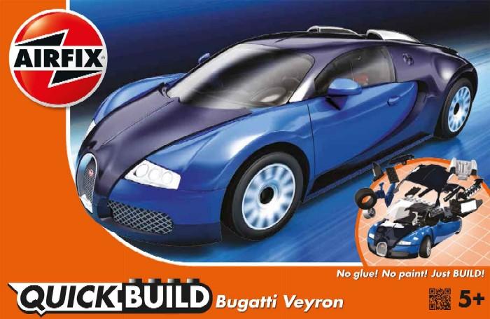 airfix quick build bugatti veyron car snap. Black Bedroom Furniture Sets. Home Design Ideas