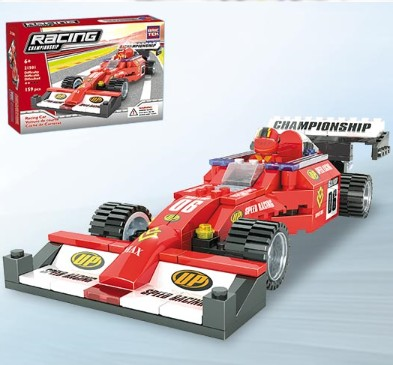 Brictek Building Blocks  Racing Car (159pcs)