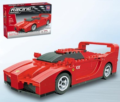 Brictek Building Blocks  Muscle Car (170pcs)