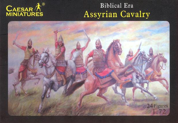 Caesar Miniatures 1/72 Biblical Era Assyrian Cavalry (12 Mtd)
