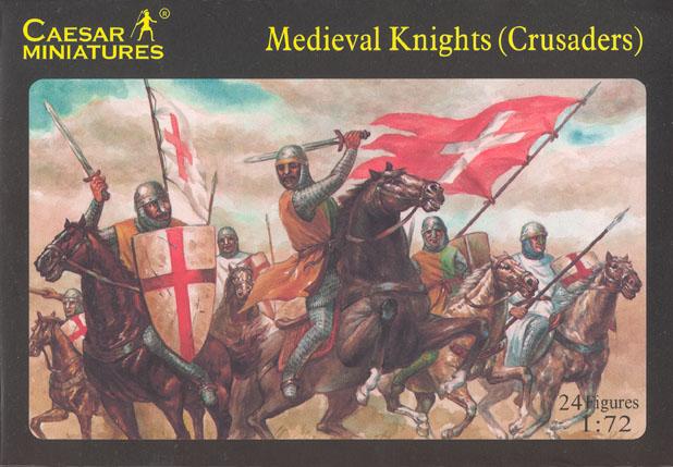 Caesar Miniatures 1/72 Medieval Knights (Crusaders) (24)
