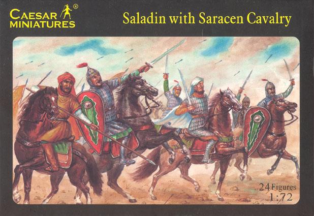 Caesar Miniatures 1/72 Saladin w/Saracen Cavalry (24)