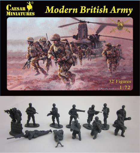 Caesar Miniatures 1/72 Modern British Army (33)