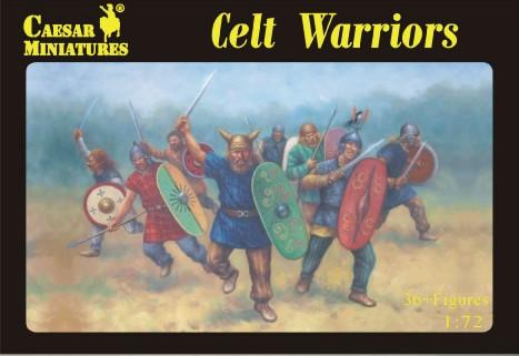 Caesar Miniatures 1/72 Celt Warriors (36)