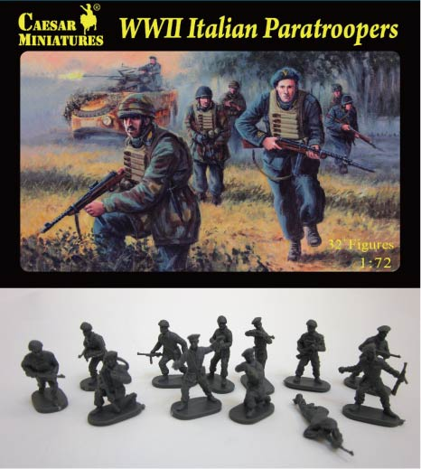 Caesar Miniatures 1/72 WWII Italian Paratroopers (33)