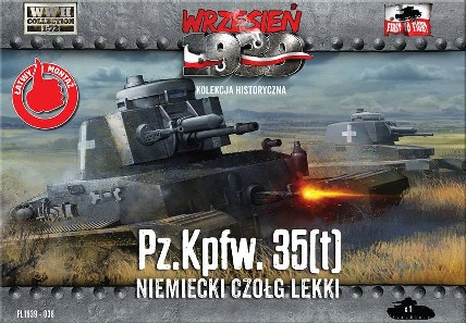 Image 0 of First To Fight Models 1/72 PzKpfw 35(t) German Light Tank