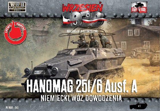 Image 0 of First To Fight Models 1/72 WWII Hanomag 251/6 Ausf A Halftrack